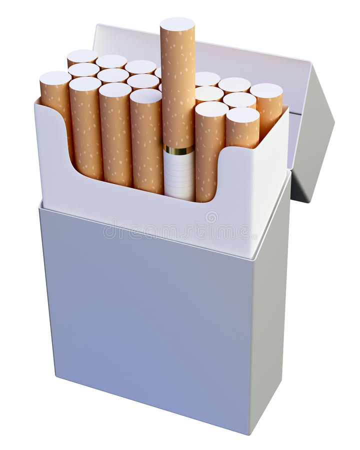 Free Cigarette Pack Royalty Free Stock Photos - 13800698