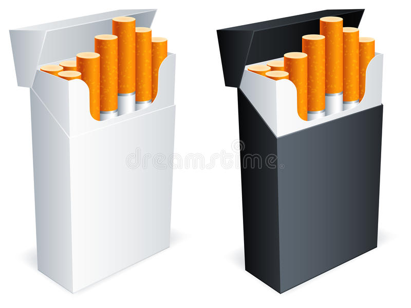 Download Cigarette Pack. Royalty Free Stock Photo - Image: 20602195