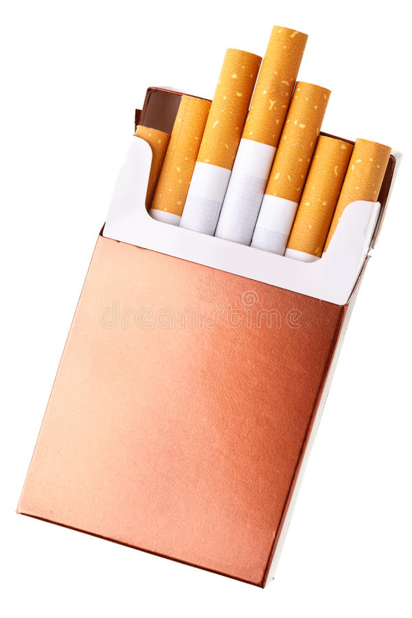 Free Cigarette Pack Royalty Free Stock Photo - 21512335