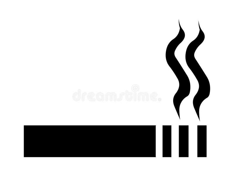 cigarette sign symbol stock illustration illustration of evil 5035430
