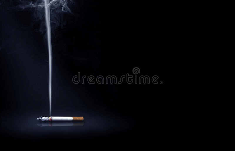 Download Cigarette and smoke stock image. Image of addict, people - 25843463