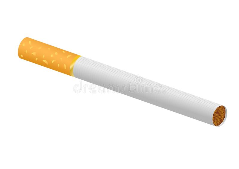 cigarette vector illustration