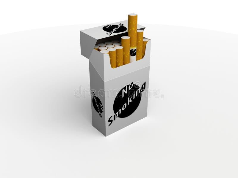 cigaretter royaltyfri illustrationer