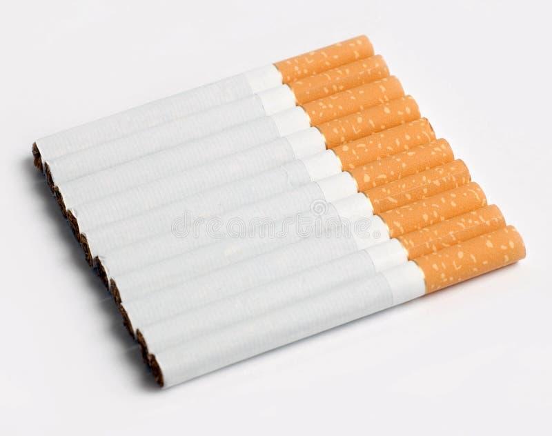 cigaretter tio arkivbilder