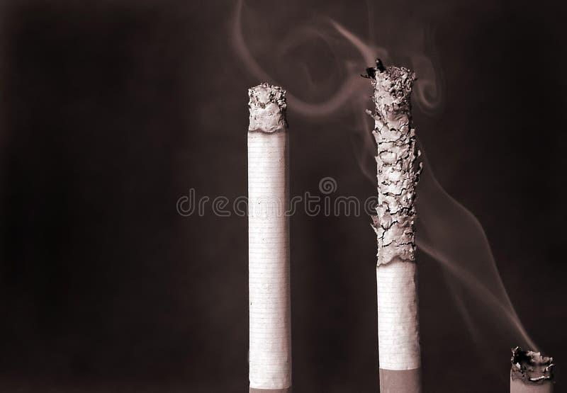 Cigaretter Tre Royaltyfri Foto