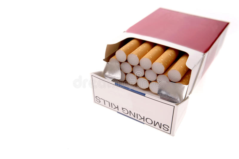 Cigarettes photo libre de droits