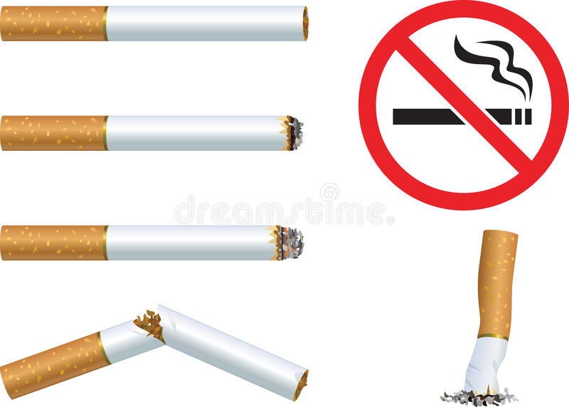 Cigarettes And Stock Photo