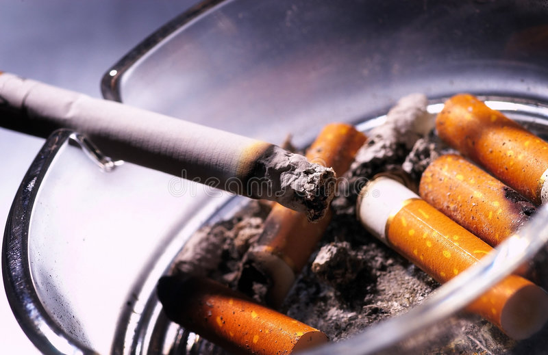 Download Cigarettes stock image. Image of anti, ashley, ailment - 2178947