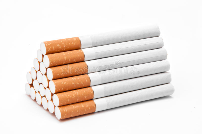 Cigarettes photographie stock