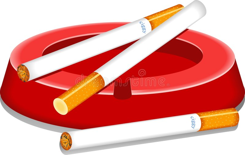 Download Cigarettes stock vector. Illustration of smoke, nicotine - 48715