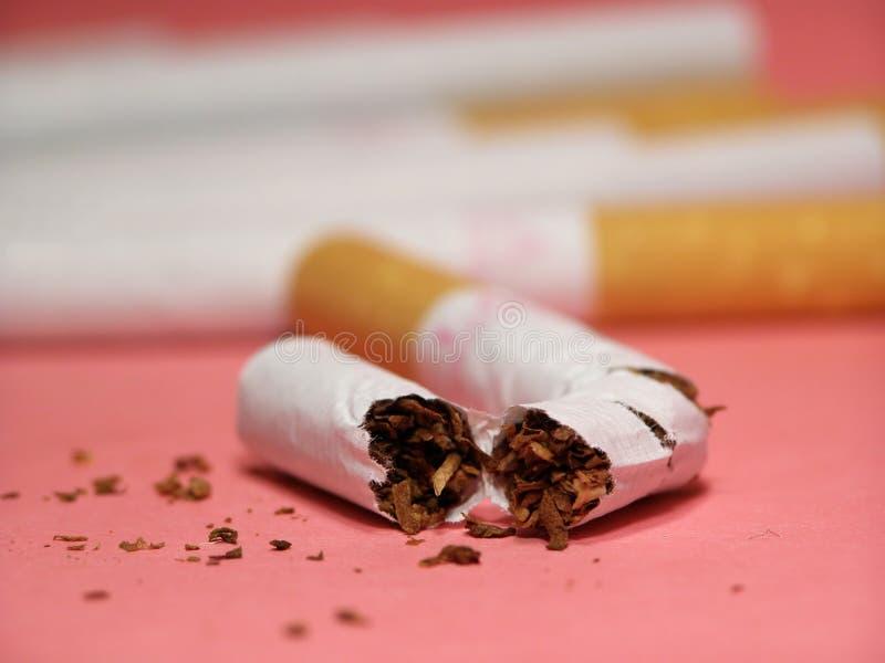 Cigarettes avec le filtre photo stock
