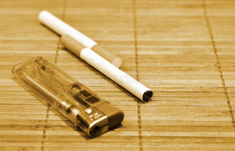 Download Cigarettes And Lighter Stock Images - Image: 17089164