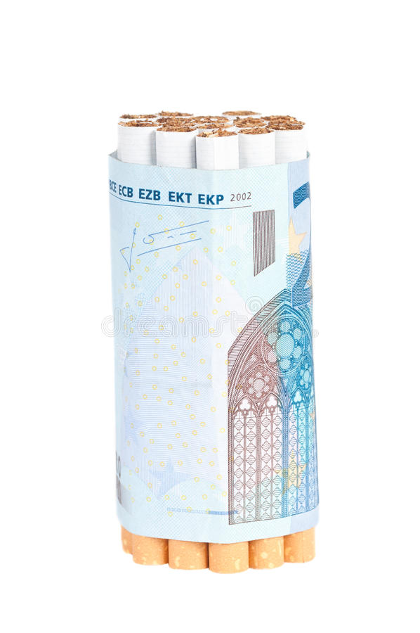 Download Cigarettes And Money Stock Image - Image: 26815071