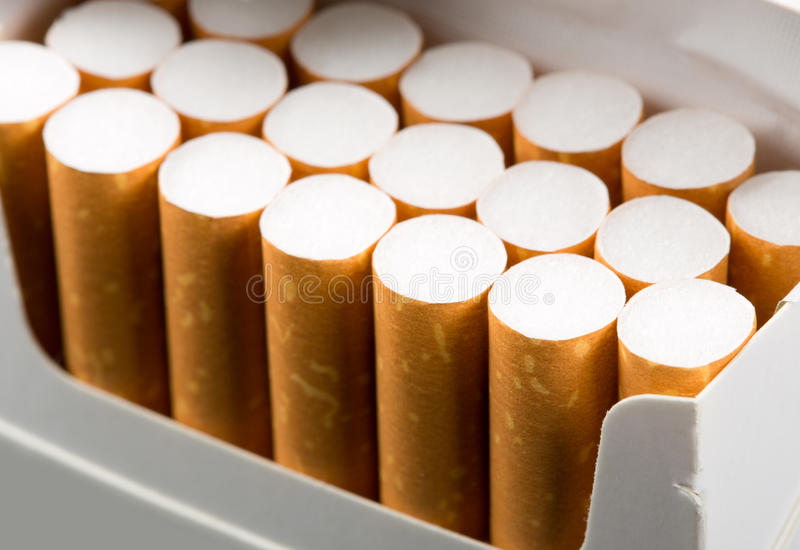 Download Cigarettes in pack stock photo. Image of habit, forbidden - 26199972