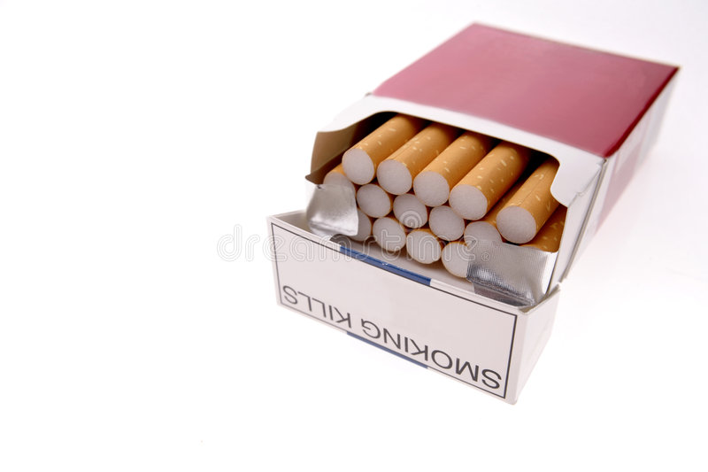 Download Cigarettes in pack stock photo. Image of lung, habit, nicotine - 3636730