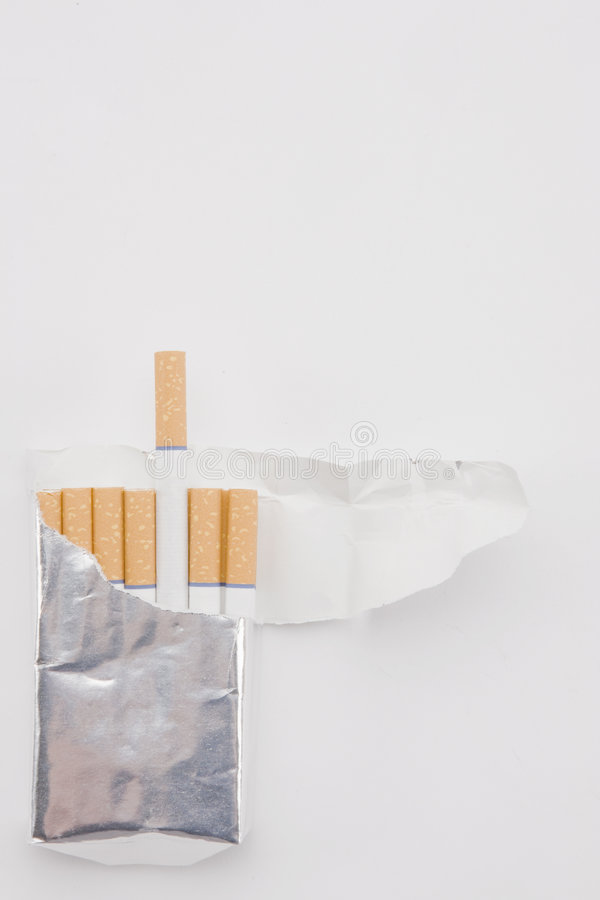Download Cigarettes Plain Pack stock image. Image of party, habit - 9159379