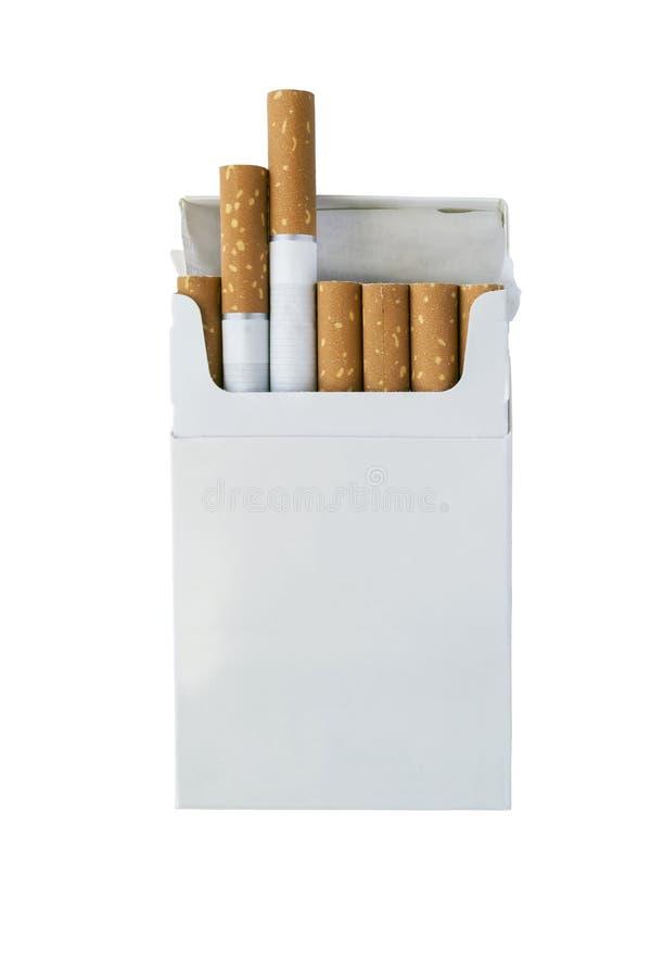 Cigarettpacke fotografering för bildbyråer