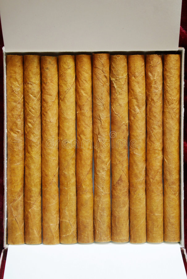 Cigarillos photographie stock