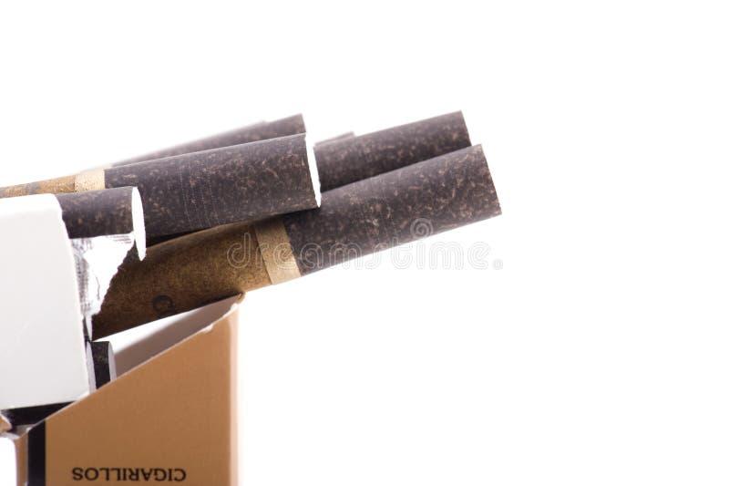 cigarillos fotografia stock