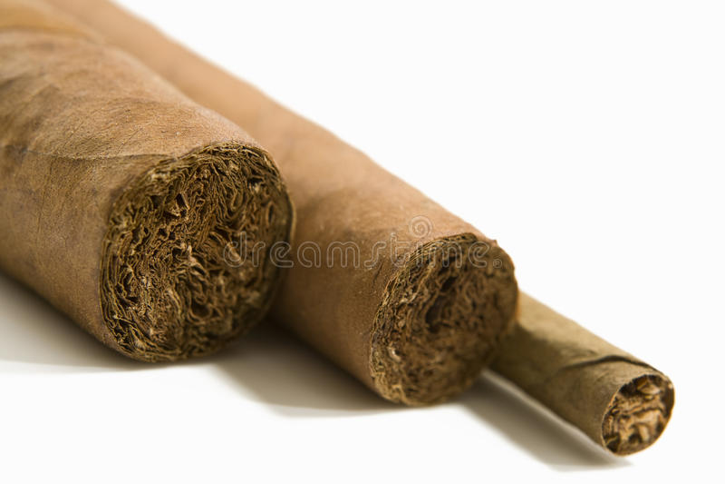 Cigarrer närbild arkivbilder