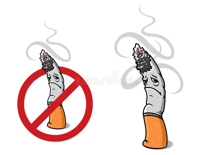 Cigarrillo del primer para la muestra libre illustration