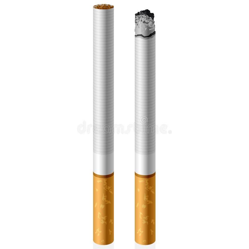 Download Cigarrillo del vector ilustración del vector. Ilustración de prohibido - 7283492