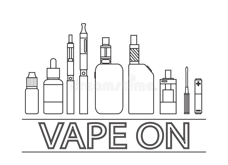 Cigarrillo electrónico libre illustration