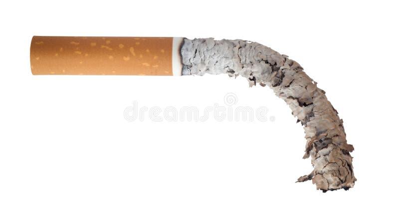 Cigarrillo quemado imágenes de archivo libres de regalías