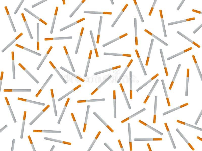 Cigarrillos y productos de tabaco fotos de archivo