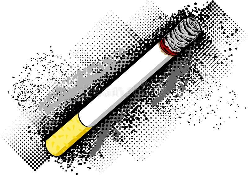 Cigarro ilustração stock