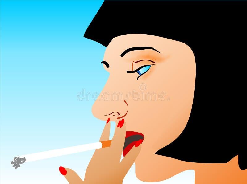 Cigarro ilustração royalty free