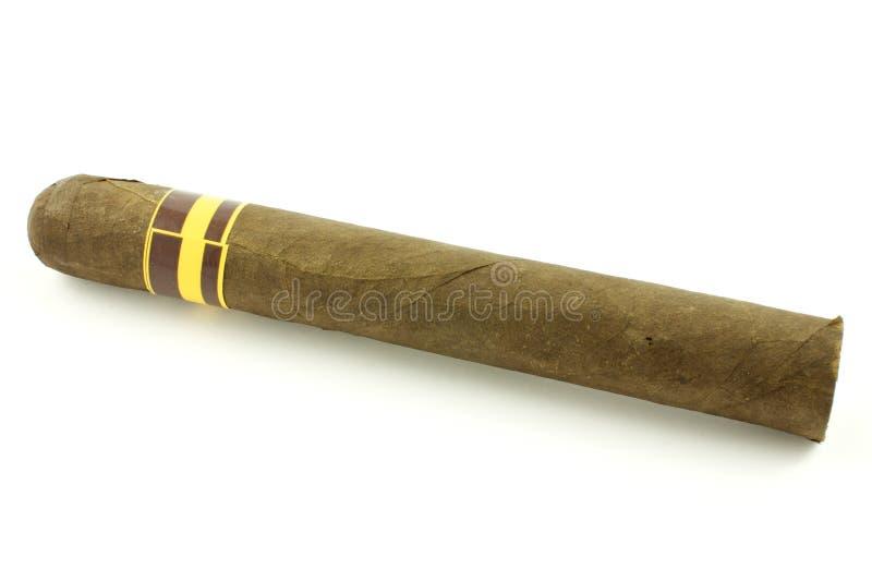 Cigarro hecho a mano imagenes de archivo