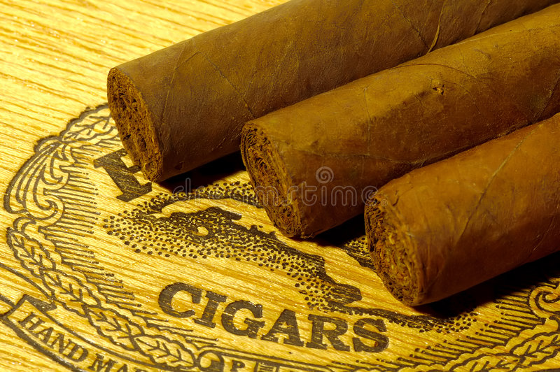 Download Cigars stock photo. Image of import, business, wrapper, wood - 67752