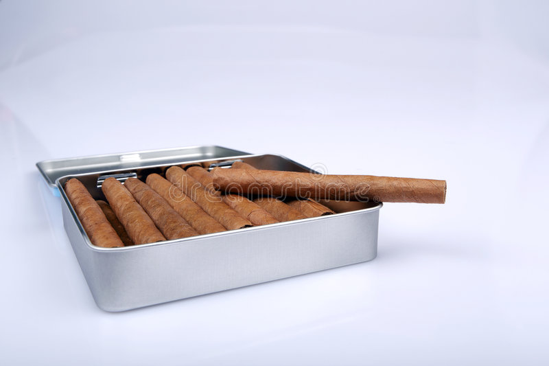 The cigars royalty free stock image