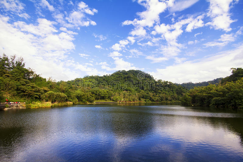 Cihu/lago benevolente fotos de stock royalty free