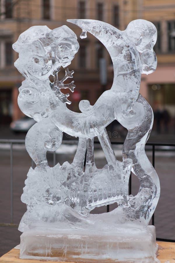 Cijfers van ijs stock fotografie
