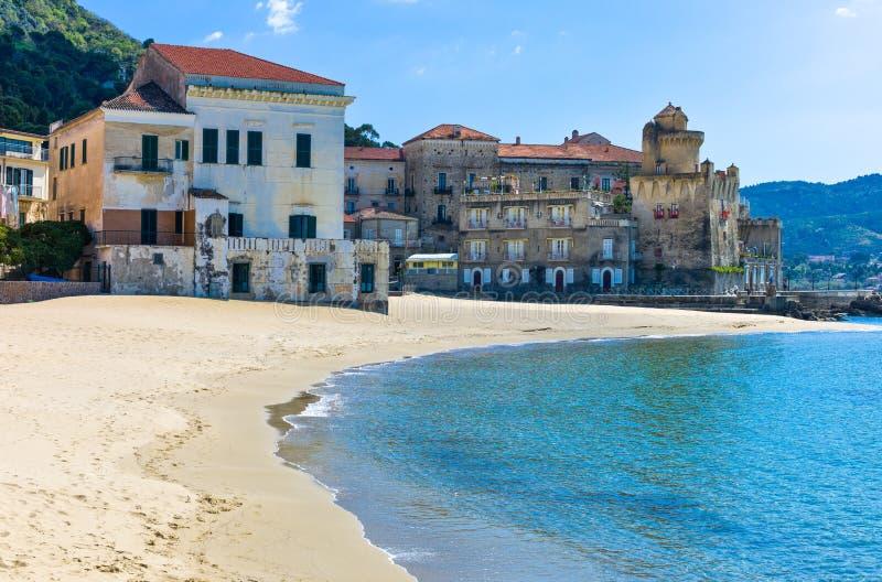 Cilento. Italy,Cilento, Santa Maria di Castellabate, the beach stock images