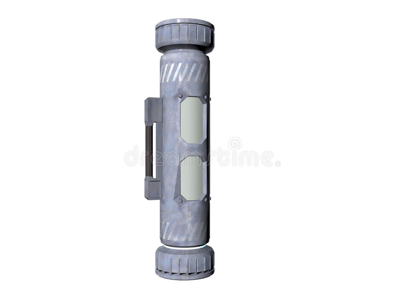 Cilinder  royalty-vrije illustratie