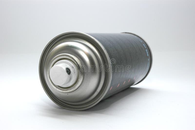 Cilinder met een verf royalty-vrije stock afbeelding