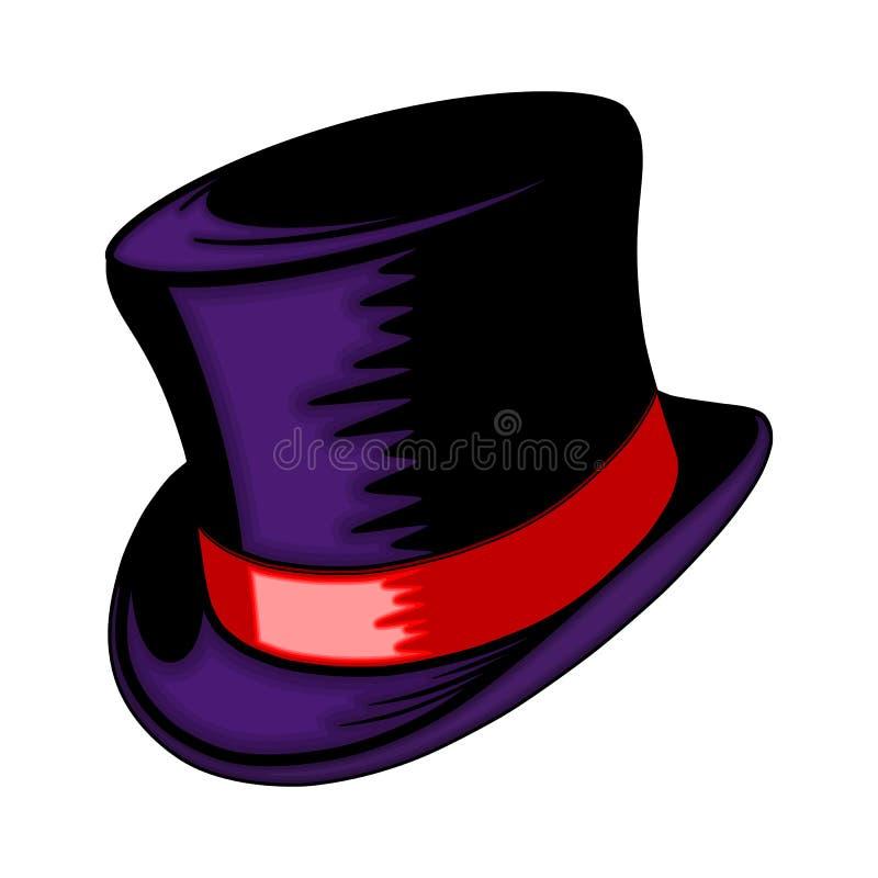 Cilindro-cappello fotografie stock