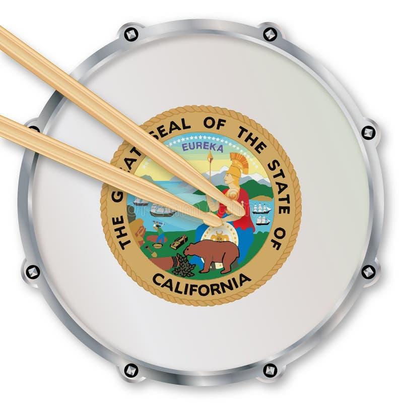 Cilindro de cilada de Califórnia ilustração royalty free