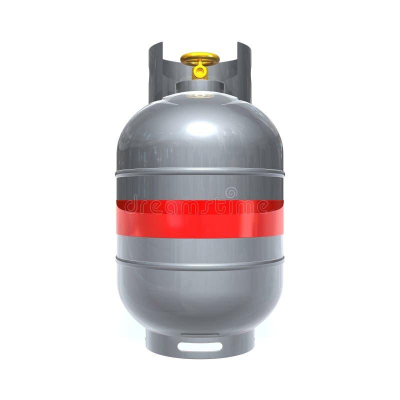 Cilindro de gás ilustração do vetor