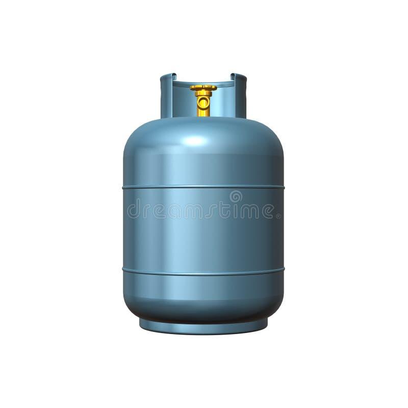 Cilindro de gas stock de ilustraci n ilustraci n de for Valor cilindro de gas