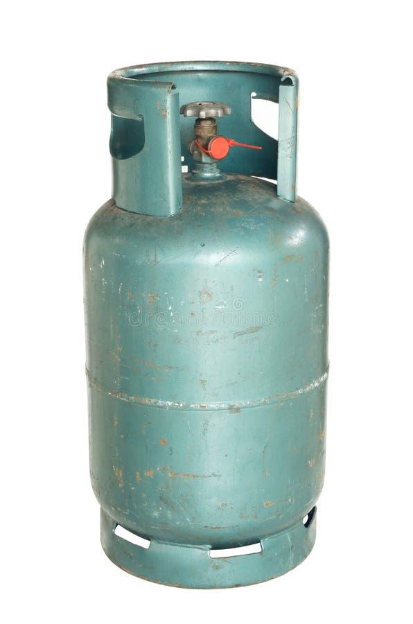 Cilindro de gas foto de archivo