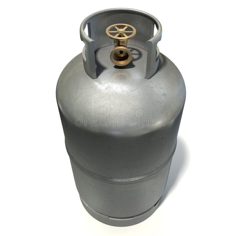 Cilindro de gas fotografía de archivo
