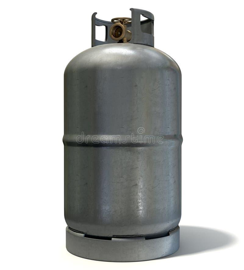Cilindro de gas fotos de archivo libres de regalías