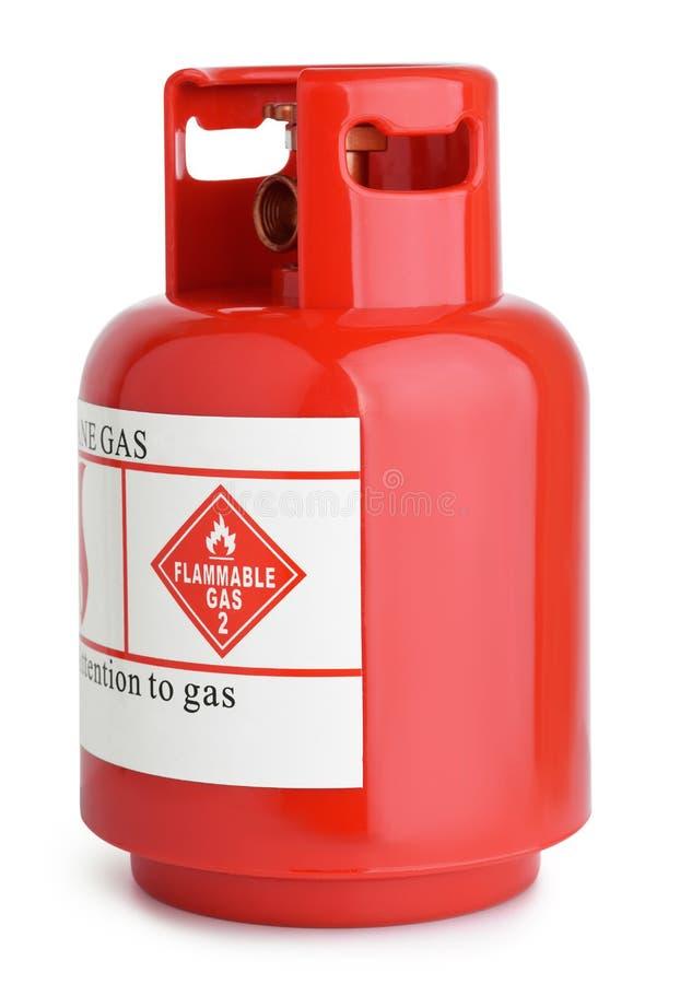 Cilindro de gas fotografía de archivo libre de regalías