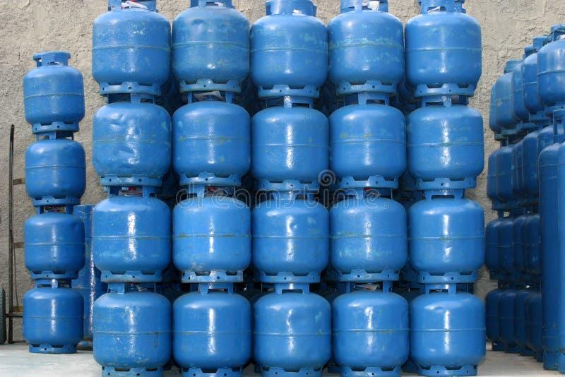 Cilindro de gas imagenes de archivo
