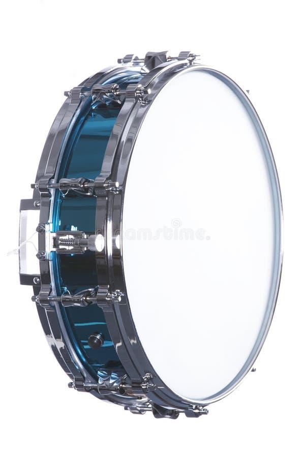 Cilindro de Snare isolado no branco imagem de stock royalty free