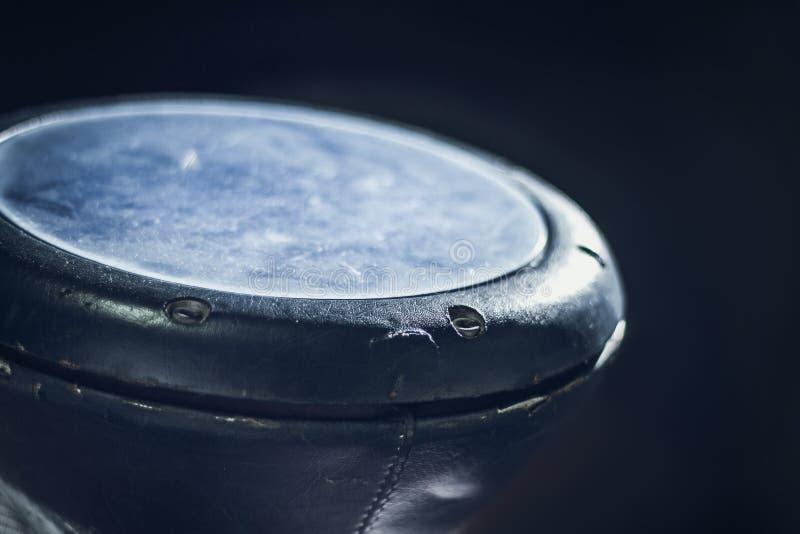 Cilindro do cálice, instrumento musical da percussão fotografia de stock royalty free